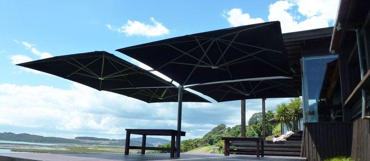 Shade Sail Cantilever Umbrella