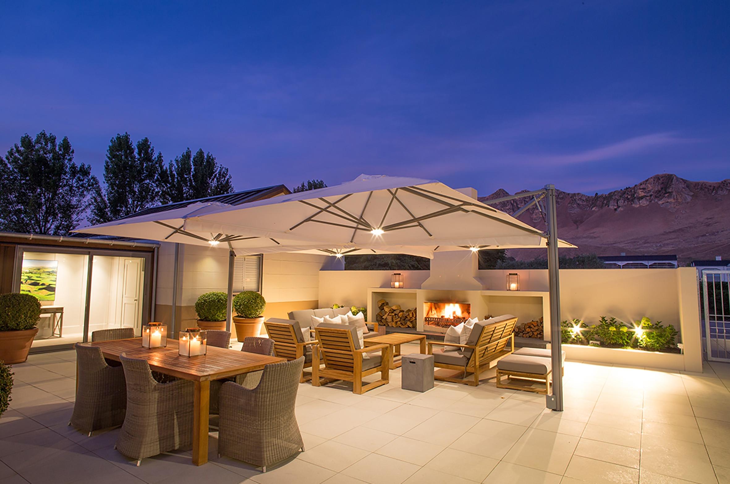 Craggy Range Lodge Courtyard evening-1