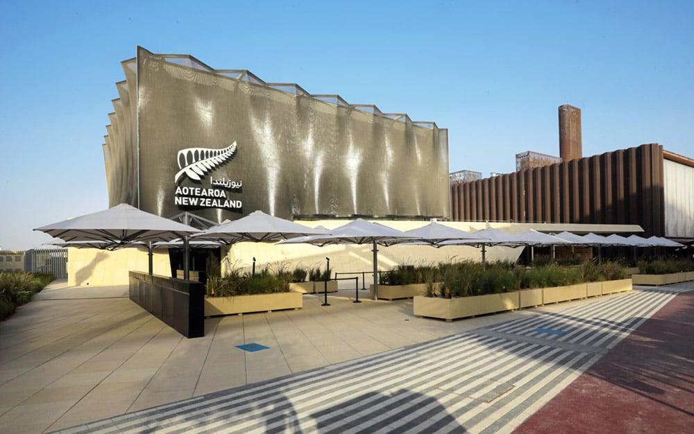 Dubai-Expo-2020-NZ-Pavilion-Shadowspec-Umbrellas