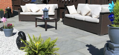 Grey Pavers