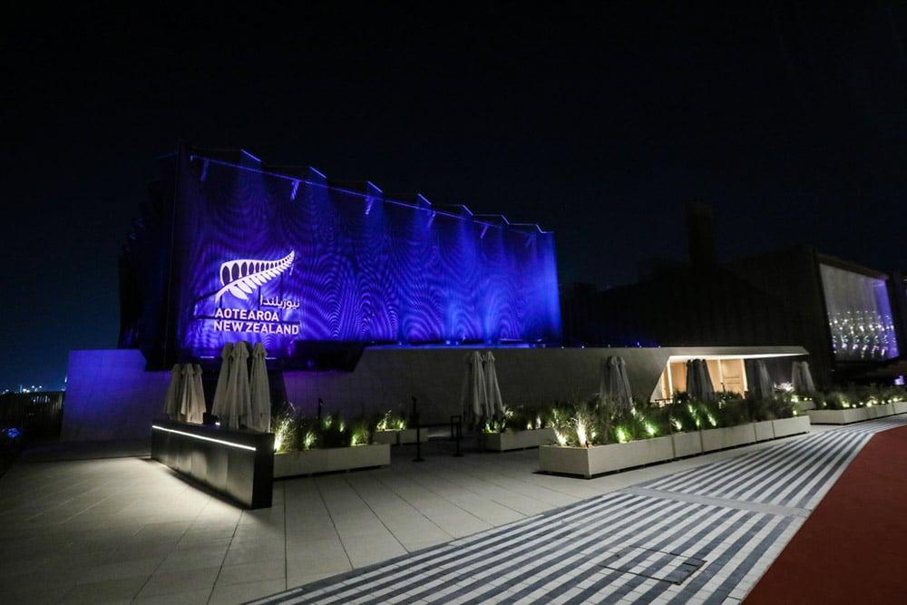 New-Zealand-Pavilion-night-landscape-blue